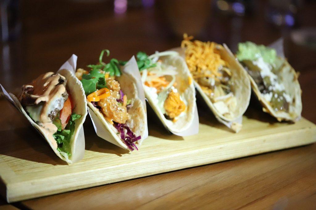 taco, mexican, tortilla